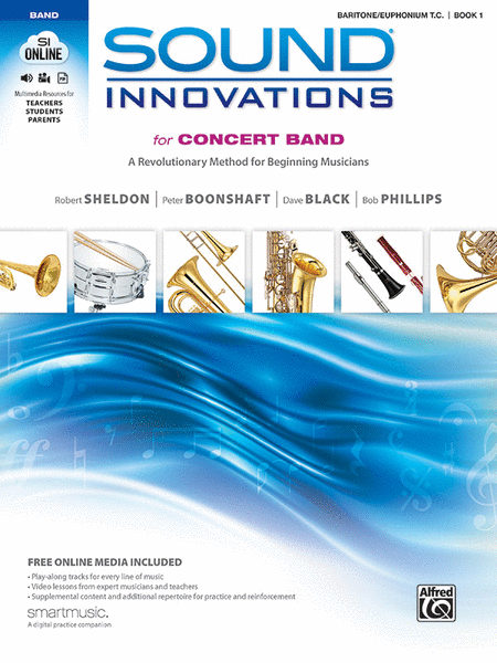 Sound Innovations for Concert Band, Book 1 (Baritone T.C.)