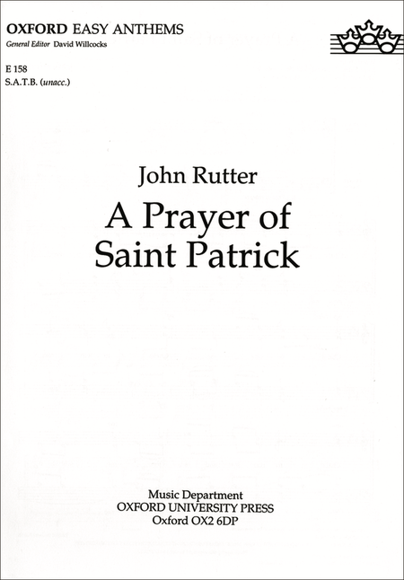 A Prayer of Saint Patrick