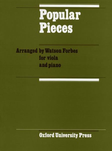 Popular Pieces for Viola