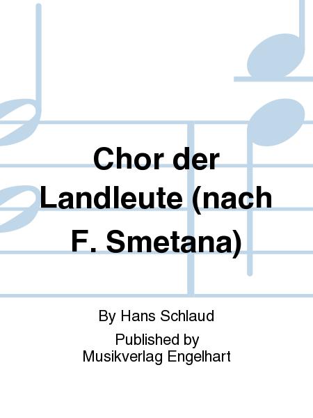 Chor der Landleute (nach F. Smetana)