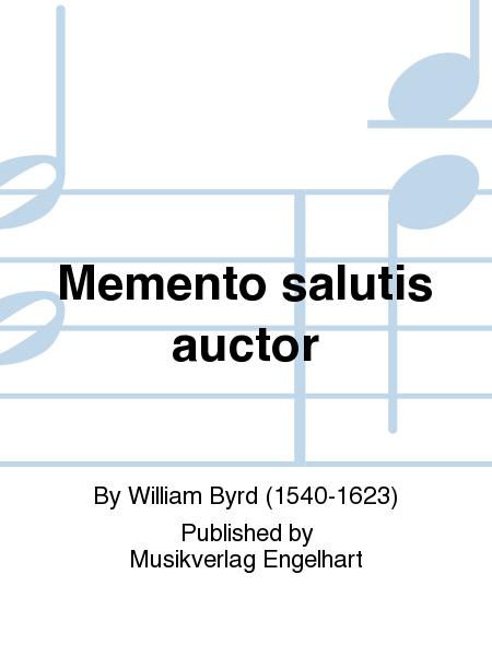 Memento salutis auctor