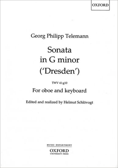 Sonata in G minor (Dresden) TWV41:g10