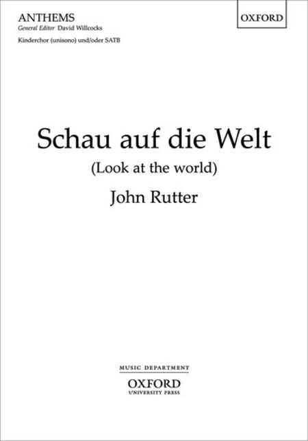 Schau auf die Welt (Look at the world)