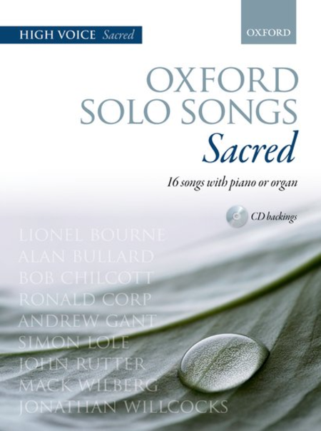 Oxford Solo Songs: Sacred