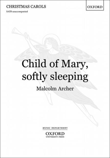 Child of Mary, softly sleeping