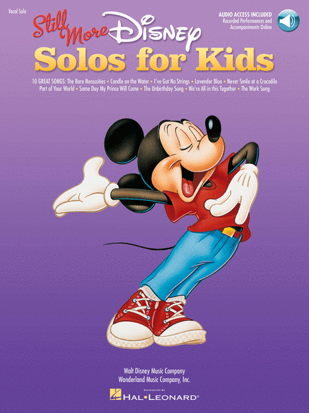 Still More Disney Solos for Kids