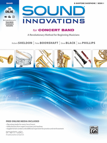 Sound Innovations for Concert Band, Book 1 (Baritone Saxophone)