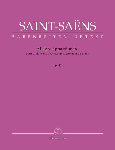 Allegro appassionato for Violoncello mit Klavierbegleitung op. 43
