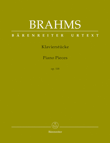 Klavierstuecke op. 118