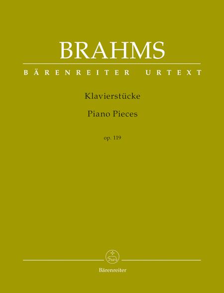 Klavierstuecke op. 119