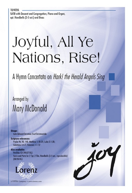 Joyful, All Ye Nations, Rise!