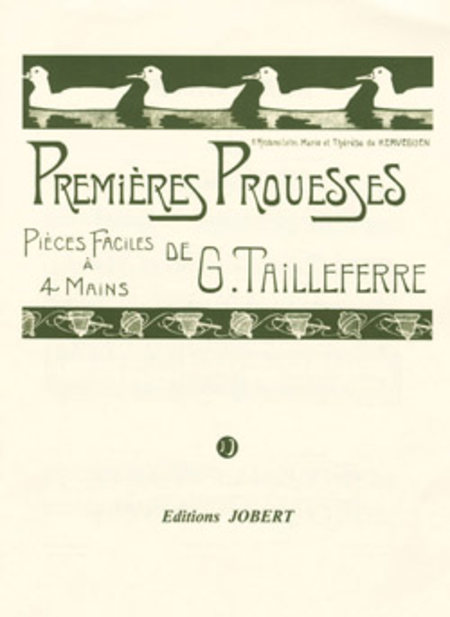 Premieres Prouesses - 6 Pieces Faciles