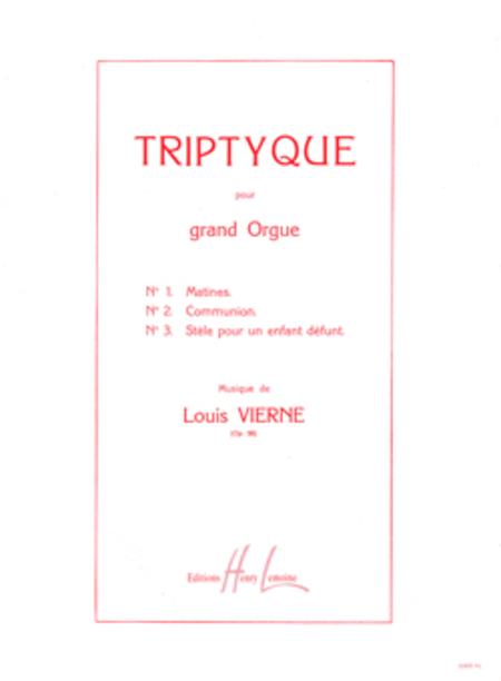 Triptyque Op. 58