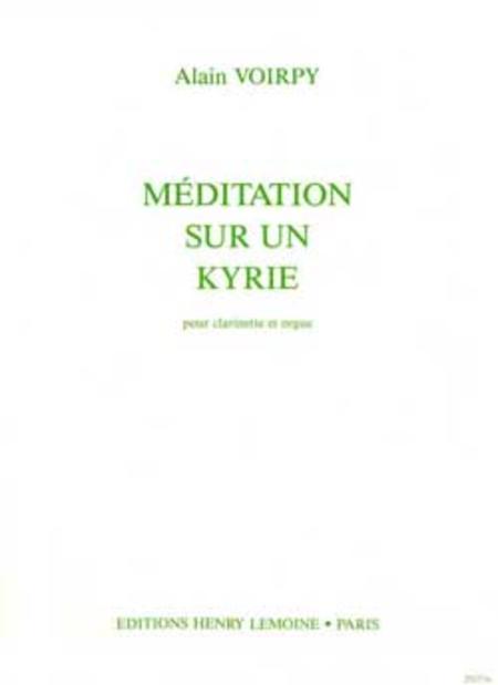 Meditation Sur Un Kyrie