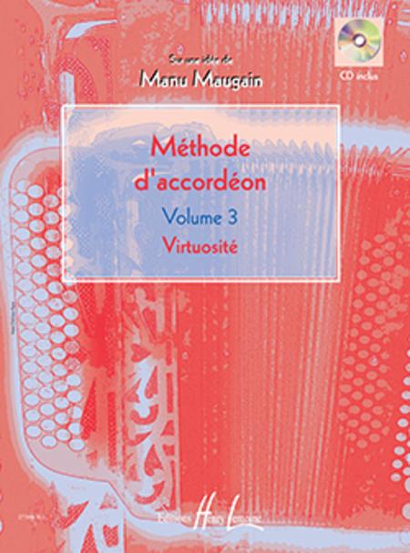 Methode D'Accordeon - Volume 3