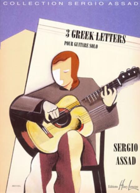 Greek Letters (3)