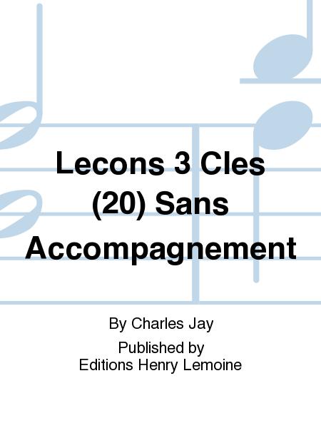 Lecons 3 Cles (20) Sans Accompagnement