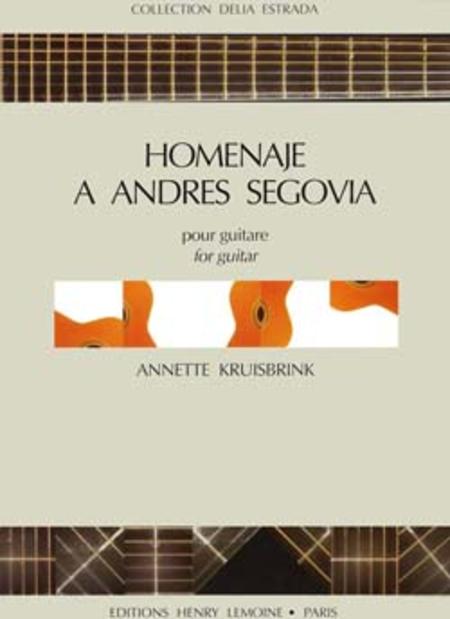 Homenaje A Andres Segovia