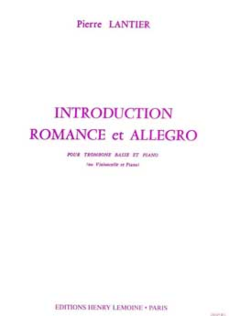 Introduction, Romance Et Allegro