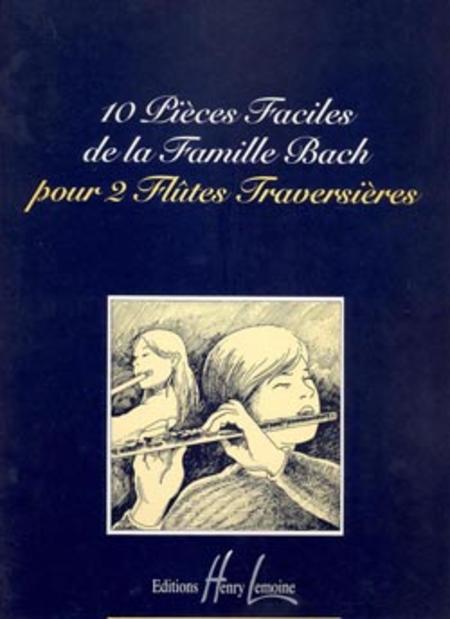 Pieces faciles de la famille Bach (10)