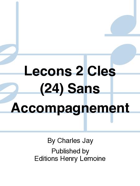Lecons 2 Cles (24) Sans Accompagnement