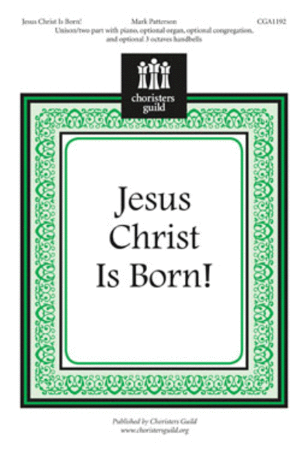 Jesus Christ Is Born!