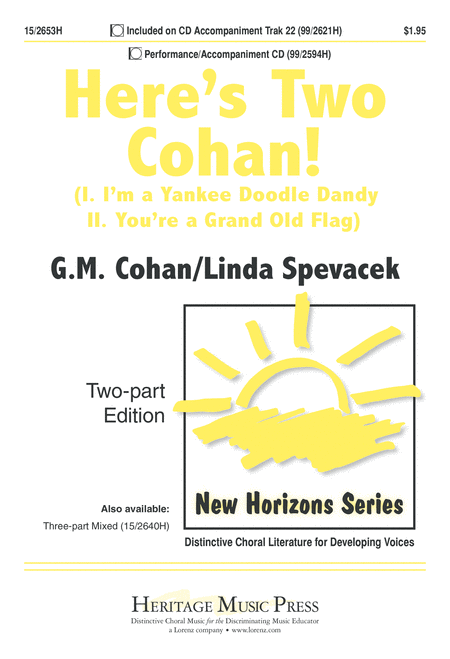 Here's Two Cohan!