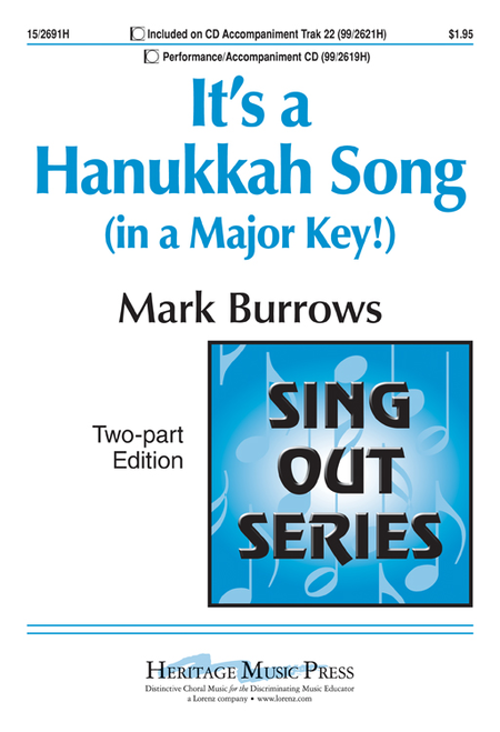It's a Hanukkah Song (in a Major Key!)
