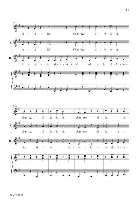 Chantez Alleluia!