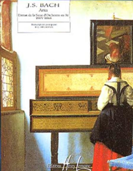 Aria extr. de la Suite en Re maj. BWV1068