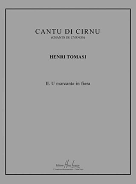 Cantu di Cirnu no. 2 U marcante in fiera