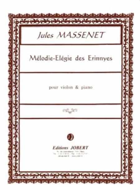 Melodie Elegie Des Erinnyes