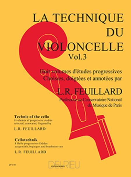 Technique Du Violoncelle - Volume 3