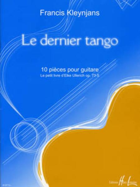 Le Dernier Tango Op. 73-5