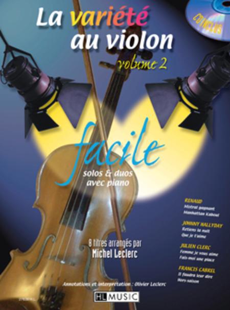 La Variete Au Violon - Volume 2