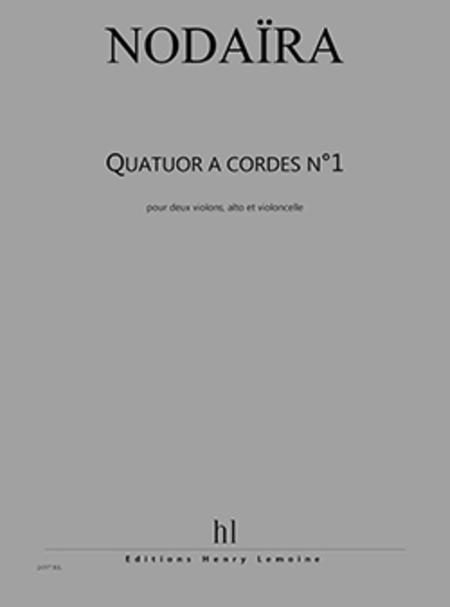 Quatuor A Cordes No. 1