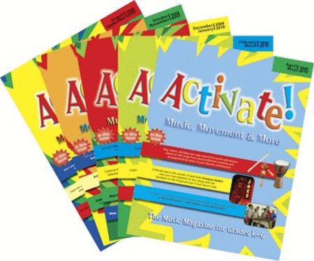 Activate! - Complete Set of Vol. 4