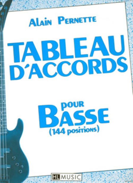 Tableau D'Accords Pour La Basse - 144 Positions