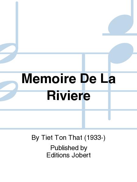 Memoire De La Riviere