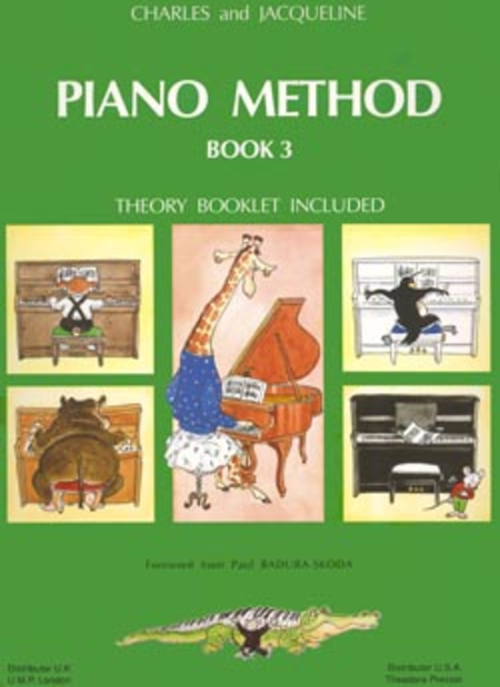 Piano Method Book 3