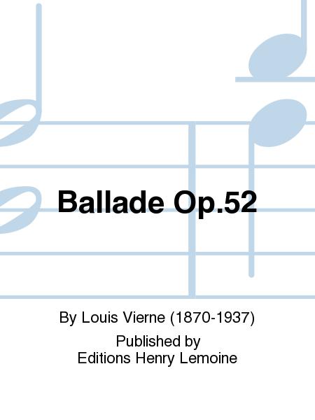 Ballade Op.52