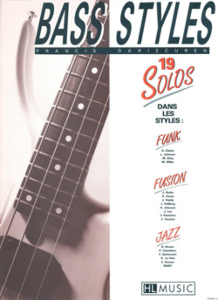 Bass Styles: 19 Solos