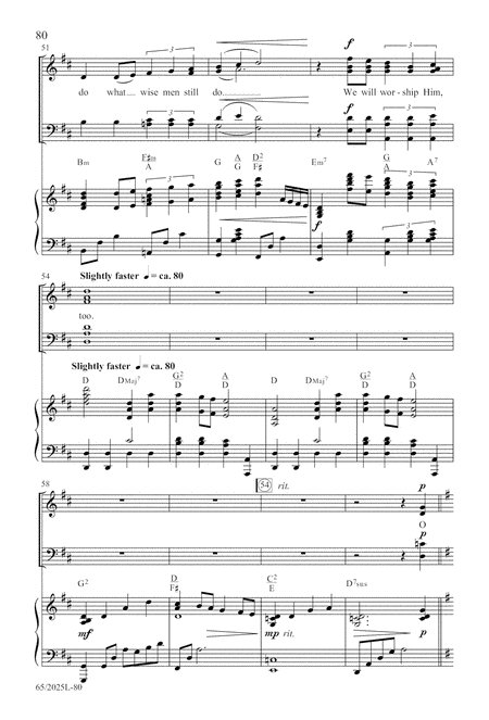 Child of Hope - SATB Score with CD
