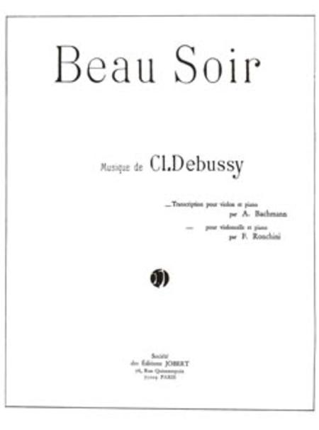 Beau Soir - Evening Fair