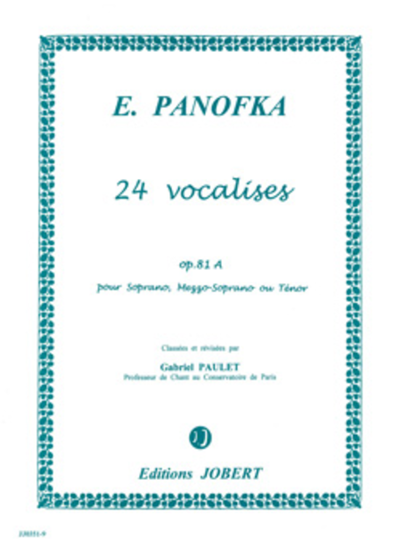 Vocalises - Volume 1 Op. 81A (24)