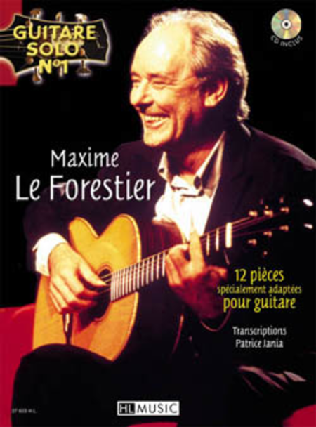 guitare solo no 1 maxime le forestier sheet music by. Black Bedroom Furniture Sets. Home Design Ideas