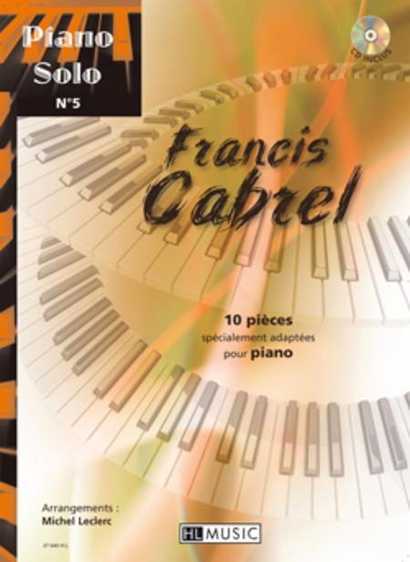 Piano solo no. 5 : Francis Cabrel