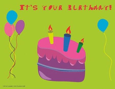 Postcard - It's Your Birthday!