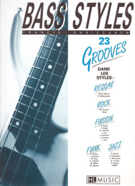 Bass Styles: 23 Grooves