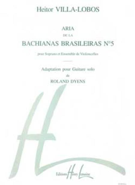 Bachianas Brasileiras No. 5